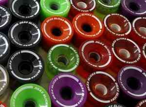 Logo printed Skateboard wheels